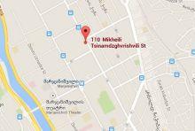 https://www.google.com/maps/place/110+Mikheili+Tsinamdzghvrishvili+St,+Tbilisi,+Gruzija/@41.7110849,44.8093546,15z/data=!4m7!1m4!3m3!1s0x40440d263f7de3ab:0x7f14259140ef9502!2sTsinamdzgvrishvili+St,+Tbilisi,+Gruzija!3b1!3m1!1s0x40440d28c92c037d:0xa1848f7fe3a376c3?hl=lt