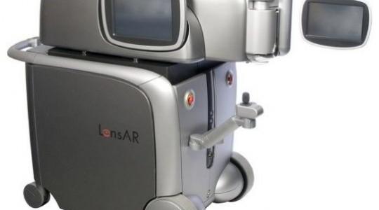 Topcon LensAR Лазерная система